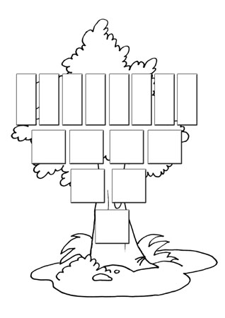 Раскраски родословное дерево 163