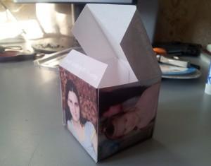 Склеиваем кубик