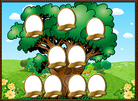 """Шаблон """"Семейное дерево"""""""